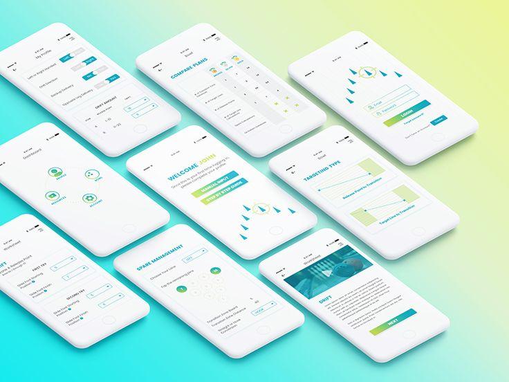 Bowling App UI Design