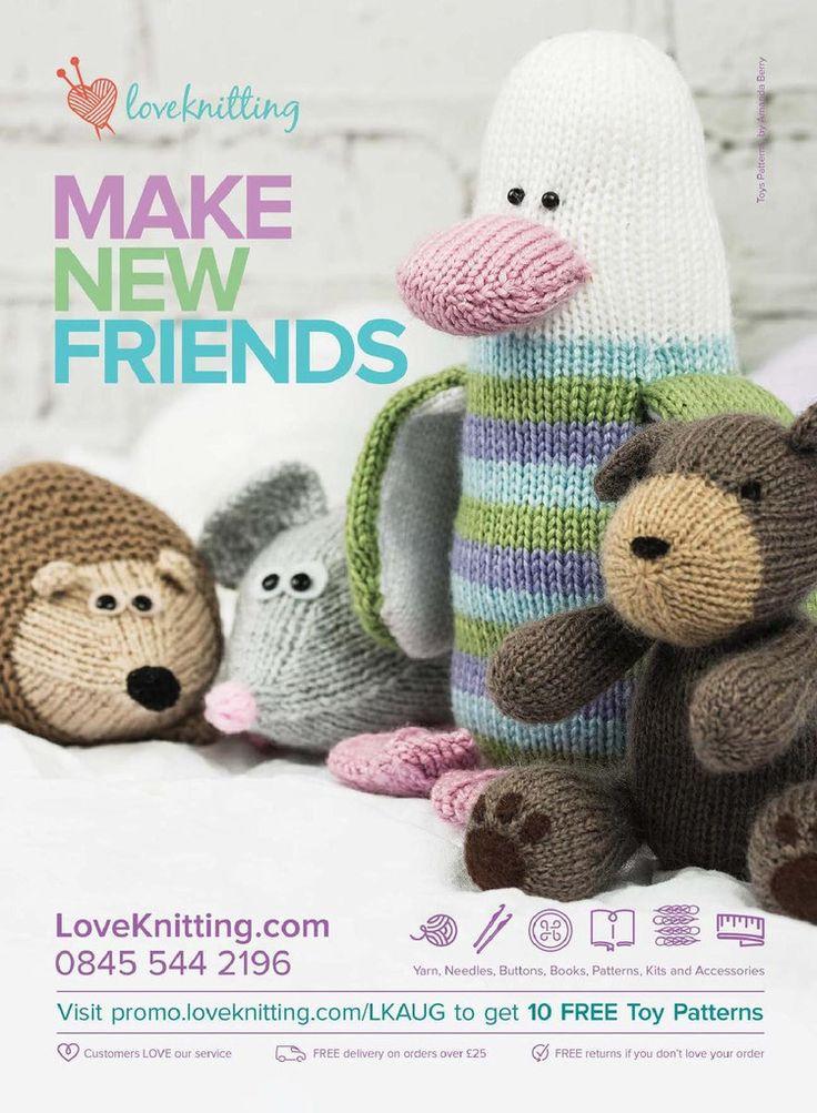 Lets Knit August 2015 - 轻描淡写 - 轻描淡写