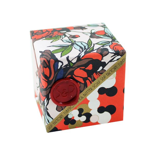 Tuberose Cube Soap by SOAP + PAPER FACTORY