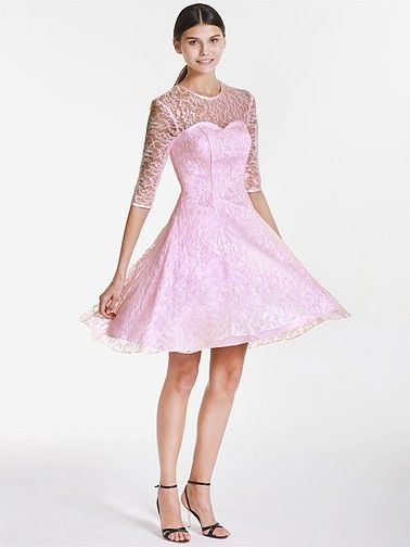 Sweetheart and Lace Vintage Bridesmaid Dress   Plus sizes available! You can even custom dress color with them!
