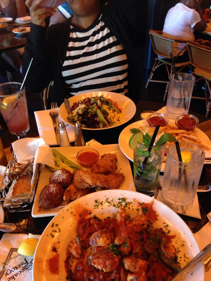 I mean Cheesecake Factory happy hour is where you should be