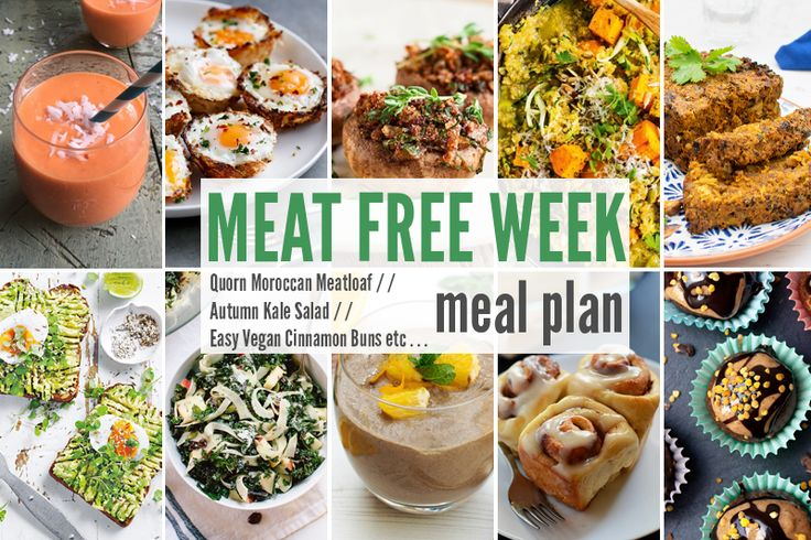 Meat Free Week Meal Planner: Quorn Moroccan Meatloaf, Autumn Kale ...
