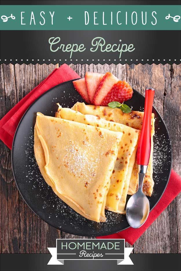 Check out An Easy Crepe Recipe You'll Love at http://homemaderecipes.com/course/breakfast-brunch/crepe-recipe/