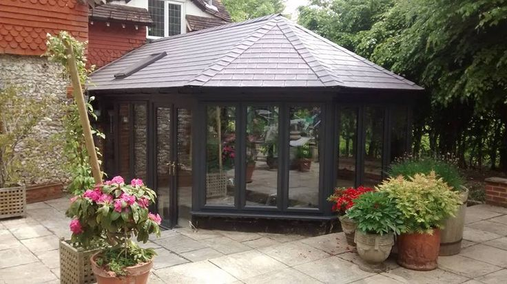 Oasis Home Improvements are privileged installers of the Supalite Roof System. The tiled roof system transforms a conservatory to a room for all seasons.