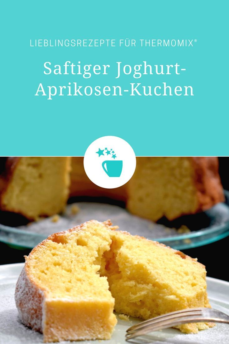 Saftiger joghurt-aprikosenkuchen
