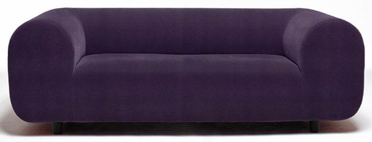 Dwuosobowa sofa Plump. W kolekcji znajdują się również sofy trzyosobowe i fotele. 2008 rok.