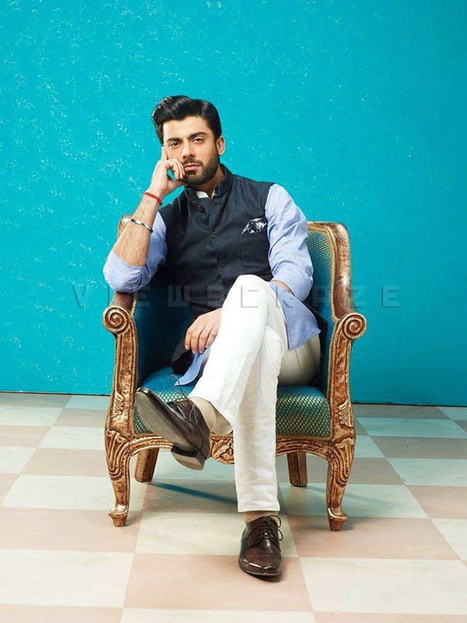 Fawad Khan's Look in the movie Khoosurat written and directed by Ad-film Director Shashank Ghosh
