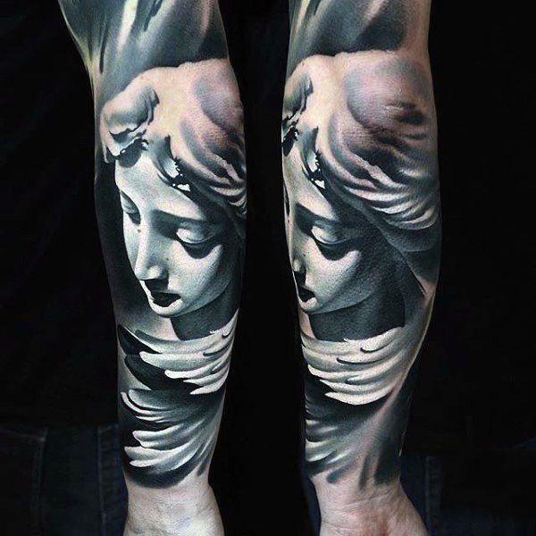 The 95 Best Guardian Angel Tattoos For Men: Best 25+ Guardian Angel Tattoo Ideas On Pinterest