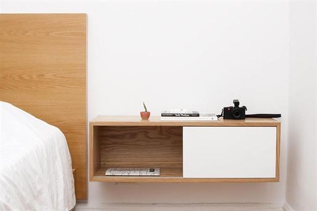Modelos de mesas de luz para tu dormitorio