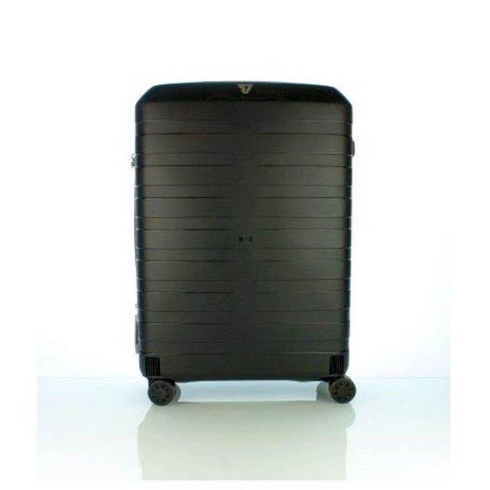 RONCATO BOX Trolley Medio 4 Ruote Nero/Blu