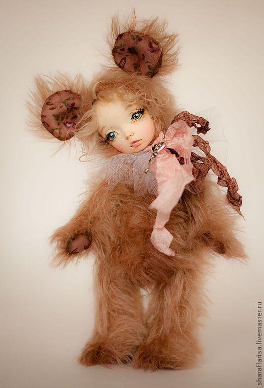 Teddy Bears handmade. Order Mouse m & e Teddy $. Kllariss_teddy. Livemaster. Mouse, granulate the metal