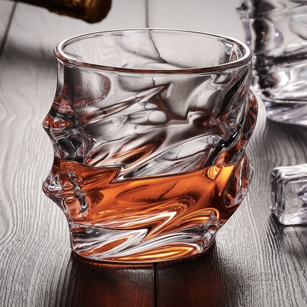 Storm Designer Crystal Whiskey Glass Whiskey Glassware Whiskey Glasses Wine Glass Cup