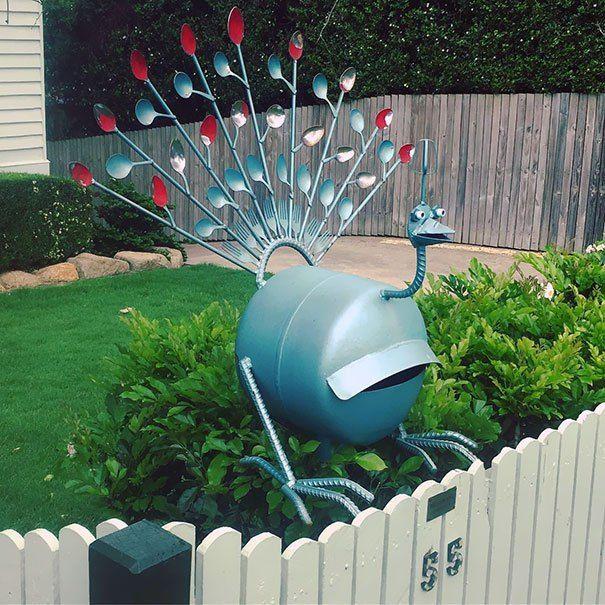 39 Creative Mailbox Ideas Taken To The Next Level Unique Mailboxes Cool Mailboxes Mailbox