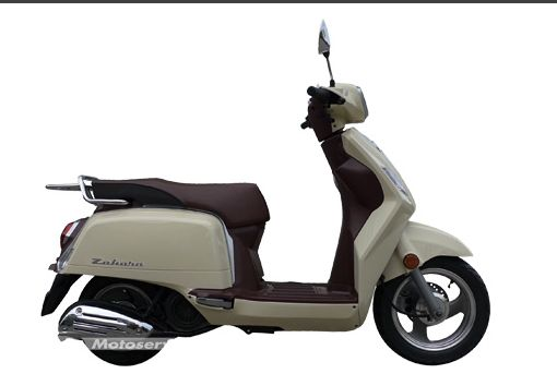 Présentation du scooter 125 Keeway Zahara 125