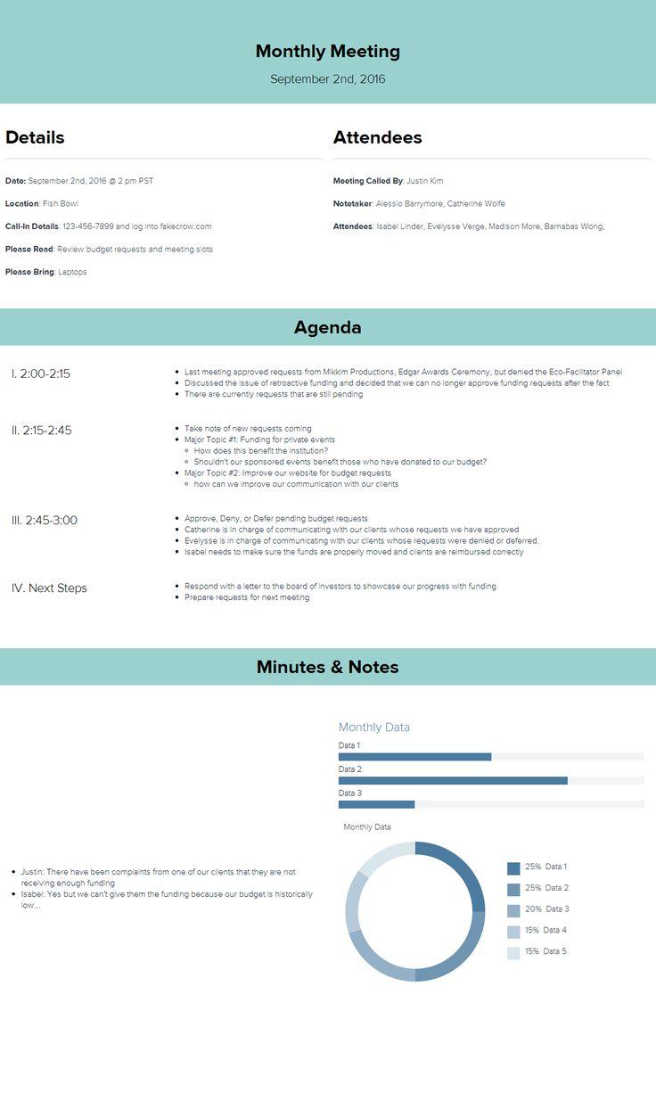 Client Meeting Agenda Template Vosvetenet – Best Agenda Template