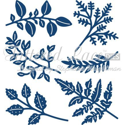 Tattered Lace Die Foliage