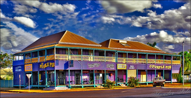QLD - Normanton - The Purple Pub - https://www.facebook.com/pages/Purple-Pub/159455900750473
