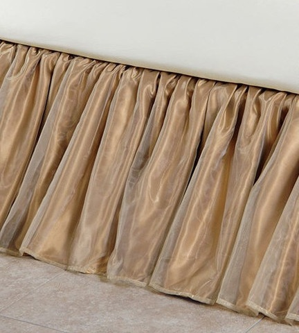How To Make A Dust Ruffle For Queen Bed