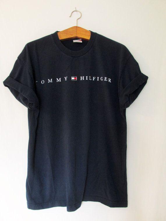 Vintage 1990s Tommy Hilfiger Tshirt by FreshtoDeathVintage on Etsy