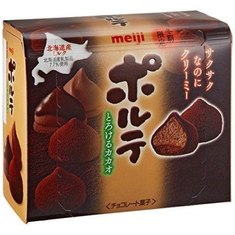 Meiji porute chocolate from Hokkaido Chocolat Meiji porute de Hokkaido