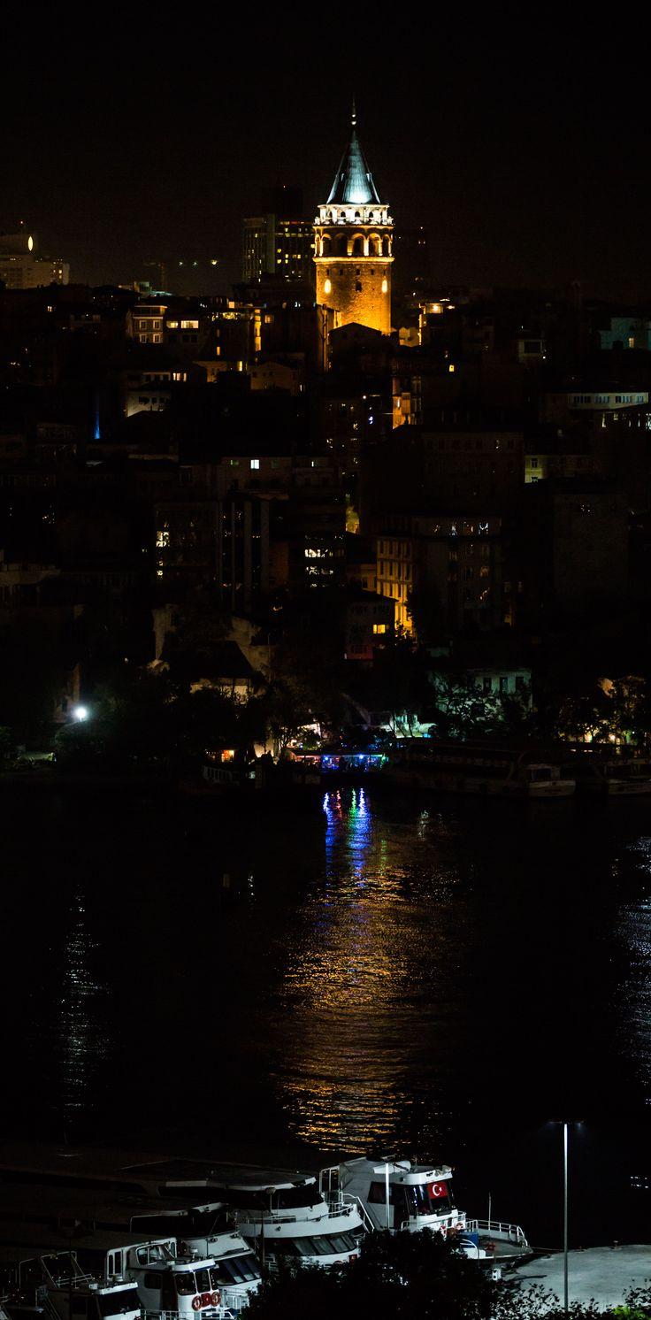 Galata Tower , Golden Horn, Istanbul