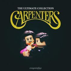 To close my interpretation of album art I would like to present you our most favorite band of all time the duo Karen and Richard Carpenter. Unfortunately not many of my friends know this band except for their most famous song Close to You. How about you guys? Have you ever heard of The Carpenters? . #lego #legophotography #thecarpenters #closetoyou #legoalbumcover #tcb_fanartforpops #tga_changingseasons
