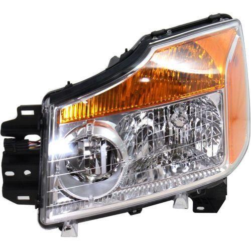 2008-2015 Nissan Titan Head Light LH, Assembly - Capa