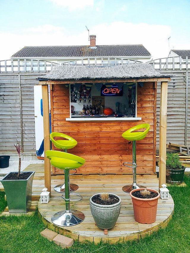 backyard shed bars
