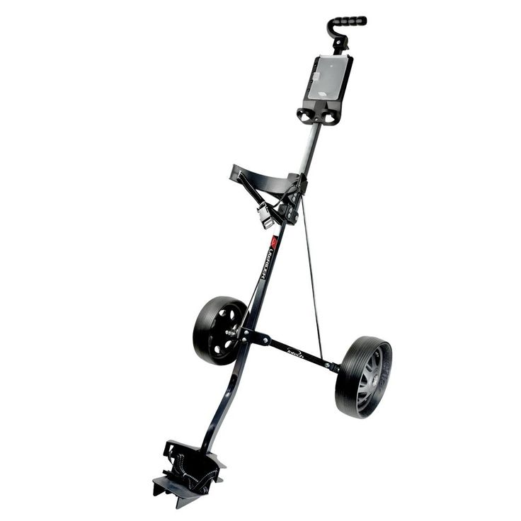The 10 inch wheels on this literider golf trolley pull cart by Intech provide you with an incredibly smooth roll for additional comfort when walking around the golf course!