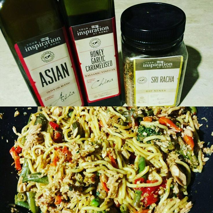 Sri Racha Asian Stir-Fry using left over Turkey.| Delicious dinner. Quick and easy. Turkey stir fry. Heated wok, tossed in a little YIAH Asian oiled Added fresh veges to stir fry Combined YIAH Sri Racha Dip mix & YIAH Honey garlic Caramelised BV for marinade Added chopped left over turkey and Gluten free Hokkien Noodles. Done and dusted, tastes Devine.