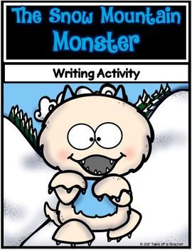 The Snow Mountain Monster is a fun and engaging creative writing activity. The templates are display-ready to show off the student's writing. It includes: 1 Brainstorm Graphic Organizer 3 Paragraph Graphic Organizers 1 Primary lined template 1 Lined template 1 Blank template