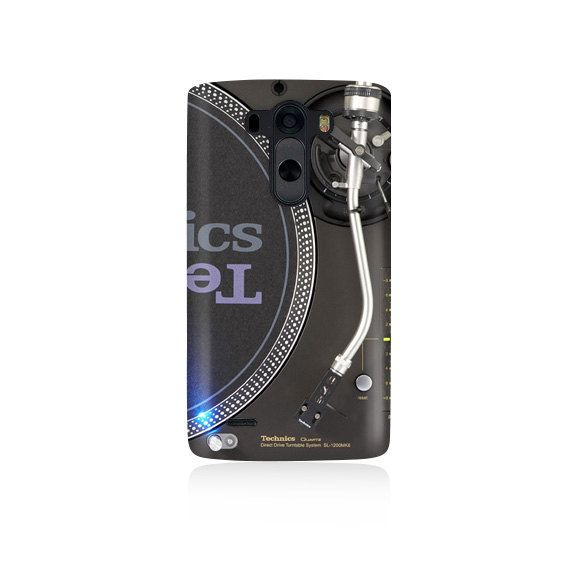 Technics Turntable Design Cover LG G3 Case LGG3 by VDirectCases