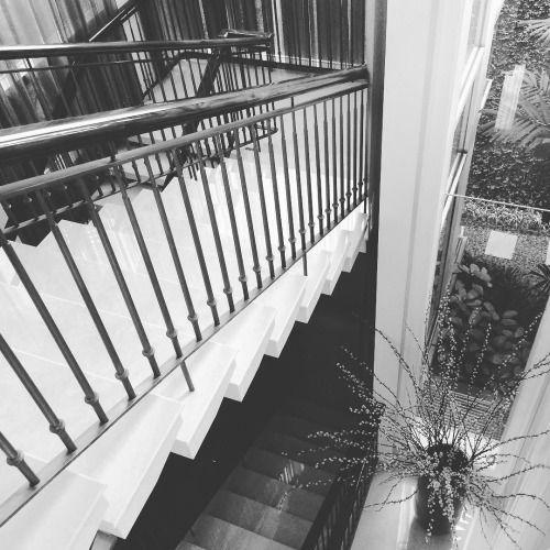 #staircase #stairporn #sitevisit #monochrome #blackandwhite...