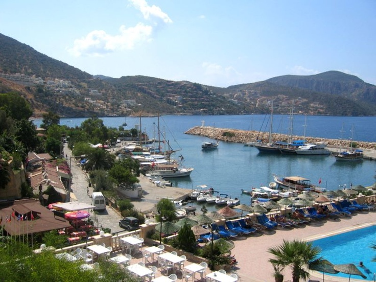 Kalkan on the Turquoise coast in Turkey. My favourite holiday spot! Gorgeous views, friendly people and rooftop restaurants serving the best Mediterranean food you could wish for. Heaven.