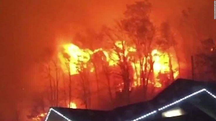 Three Gatlinburg-area resorts appear to have been destroyed by wildfires in the popular tourist area in eastern Tennessee, state emergency management spokesman Dean Flener said Tuesday morning.
