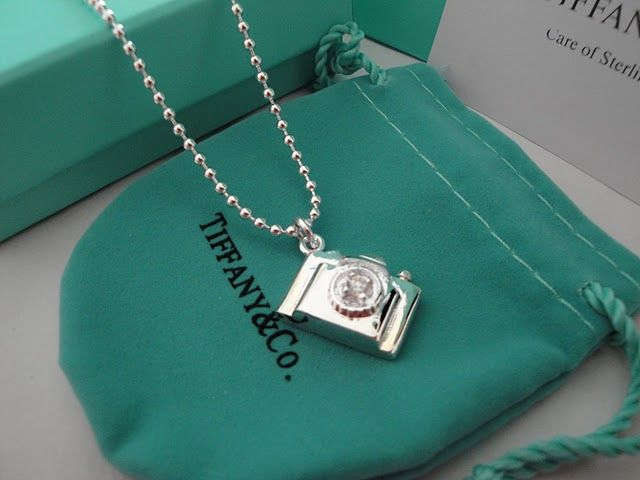 Tiffany Co Necklace Jewelery It's a Camera for the Photographer in your life!