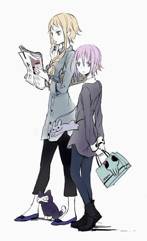 Medusa & Crona<<<< RAGNAROK IS A CAT.<<<< why in caps? <<<<<< RAGNAROK IS A CAT. YOU DON'T UNDERSTAND THE IMPORTANCE.