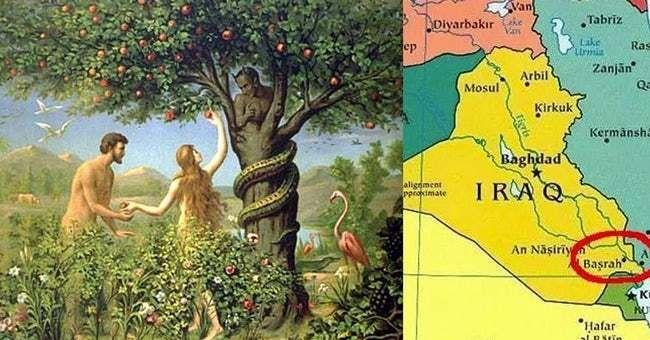 Historians Now Agree The Garden Of Eden Was Almost Definitely Located In Iraq Where Is Eden Garden Of Eden Eden
