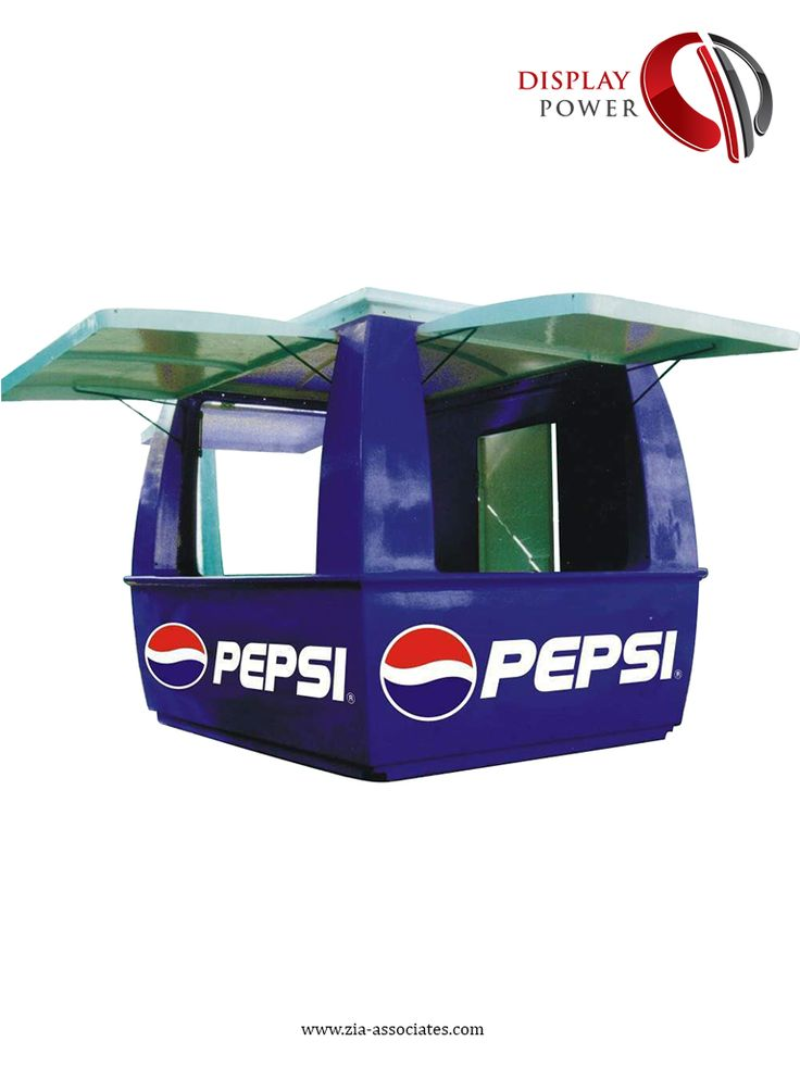 Pepsi Sales Kiosk; Designed & Produced by Display Power.