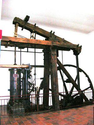 James Watt's Industrial Steam Engine, Boulton & Watt, Soho, 1788
