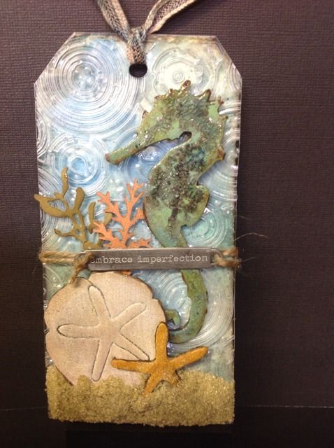 The Journey Awakens the Soul...: Tim Holtz 12 Tags July