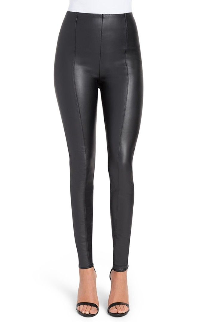 Main Image - Lyssé High Waist Faux Leather Leggings  http://shop.nordstrom.com/s/lysse-high-waist-faux-leather-leggings/4089940?origin=coordinating-4089940-0-3-PDP_1-recbot-fbt_similar_items&recs_placement=PDP_1&recs_strategy=fbt_similar_items&recs_source=recbot&recs_page_type=product