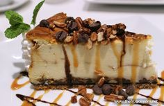 How To Make The Best Turtle Cheesecake - The Frugal Mom