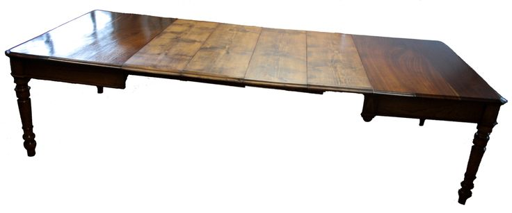 Dining table made in 1800 restored cherry and chestnut wood extendable 3 meters Superb dining table of considerable size. Made with a good choice of materials and with solid construction techniques. It is made up of a solid structure and a solid chestnut floor, hard and compact hardwood used in the table construction area, but the feet are made of solid wood cherry wood with noble and most...