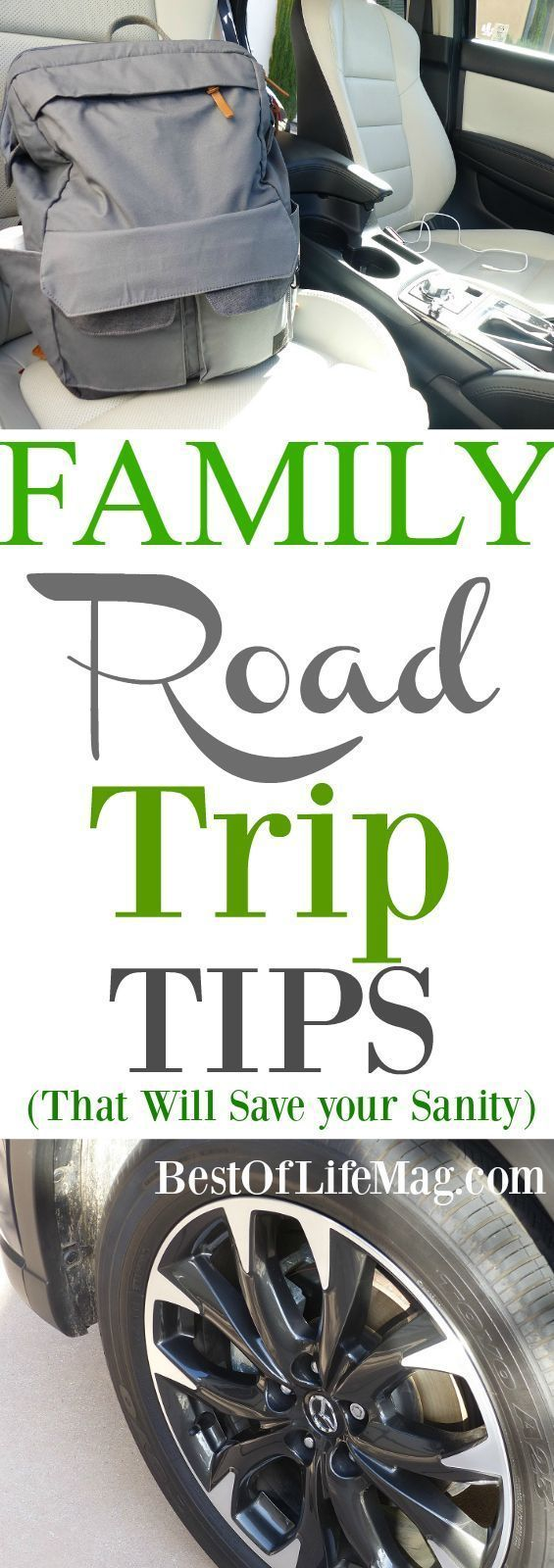 Save time, stop less, and make a family road trip enjoyable with these road trip tips.