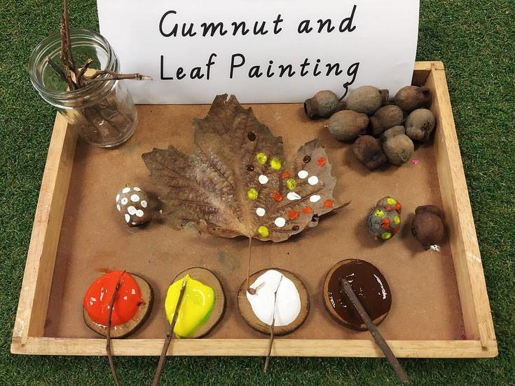Another experience that helps us celebrate NAIDOC week. We learnt more about dot painting by using natural things from our outdoor garden ❤️