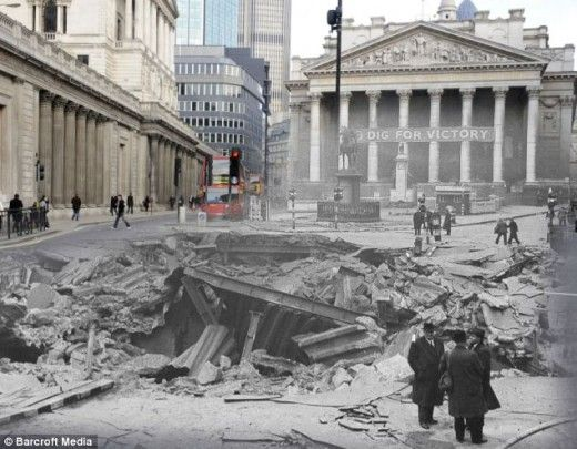The Blitz, then and now