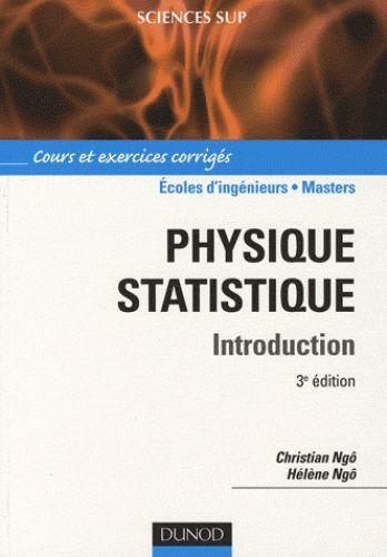 Physique statistique / Christian Ngô, Hélène Ngô