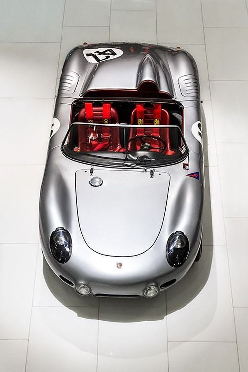 I am not a Porsche fan, never have been, but I could be persuaded to put this one in my garage.  Porsche 718 RS 60 Spyder