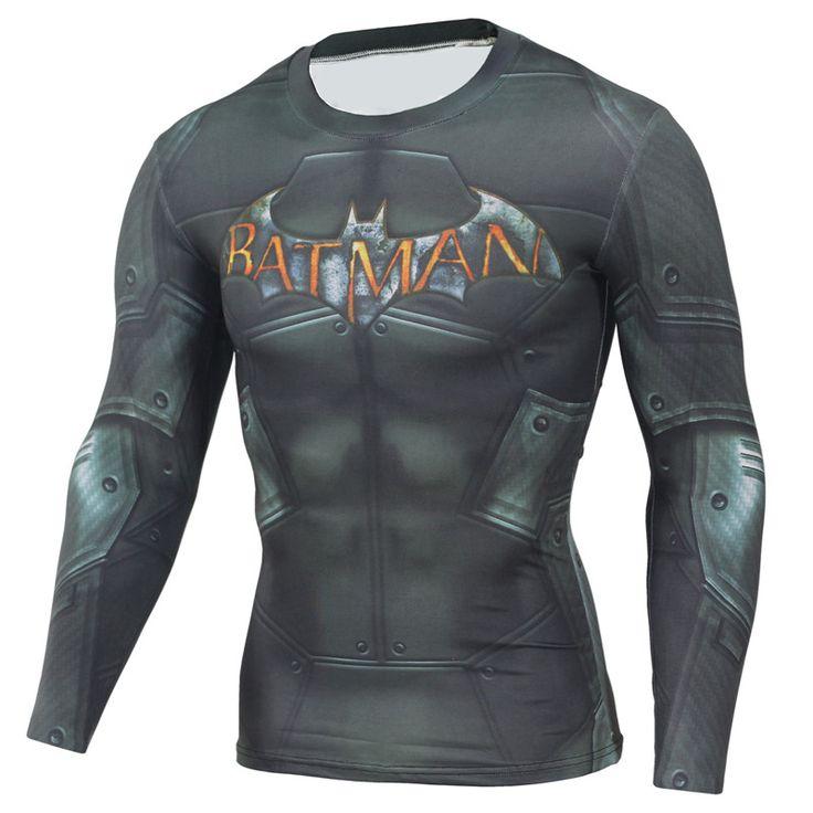 Mens Marvel T-Shirt Long Sleeve //Price: $15.78 & FREE Shipping //     #batman